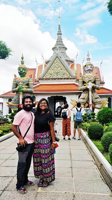 exploring in Bangkok