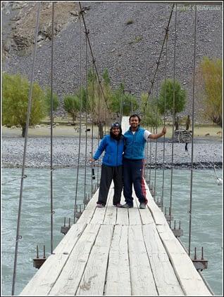 Anshul & Arpita - Bartang Valley, Tajikistan