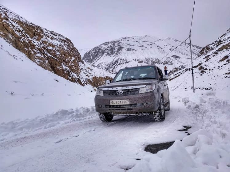 road trip to Spiti in winter