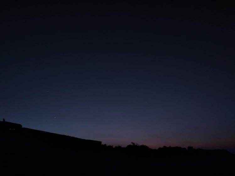 Sunset in Gandikota