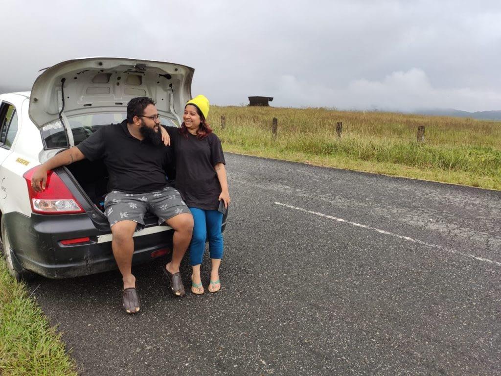 ankita chetan traveling
