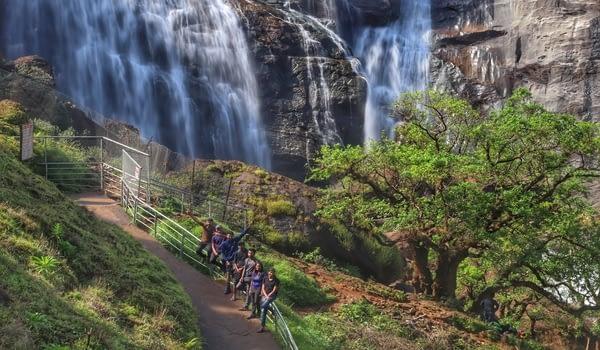 Mallalli Falls Feature