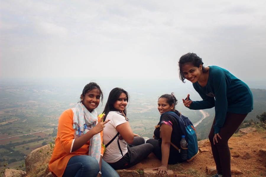 Makalidurga Trek - Bangalore- Plan The Unplanned