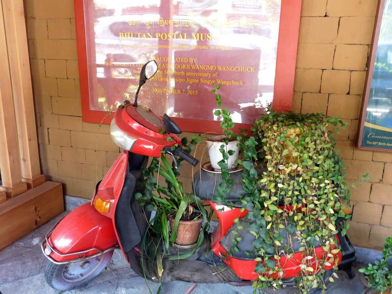 The Thimpu Post Office